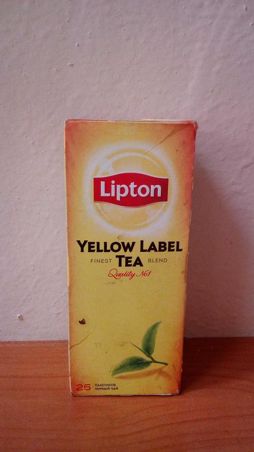 фото3 Чай Lipton Yellow Label черный, 25пак.