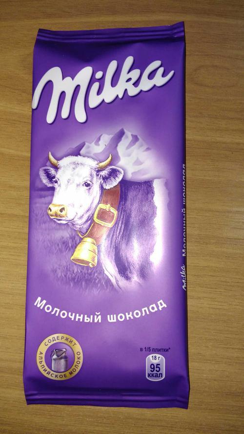 фото5 Шоколад Milka молочный