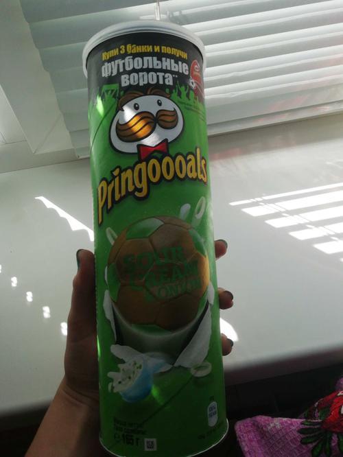 фото4 Чипсы Pringles со вкусом сметаны и лука, 165гр.