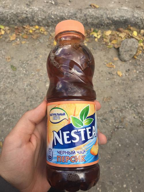 отзыв Nestea освежающий чай, вкус персика, без консервантов 0,5л