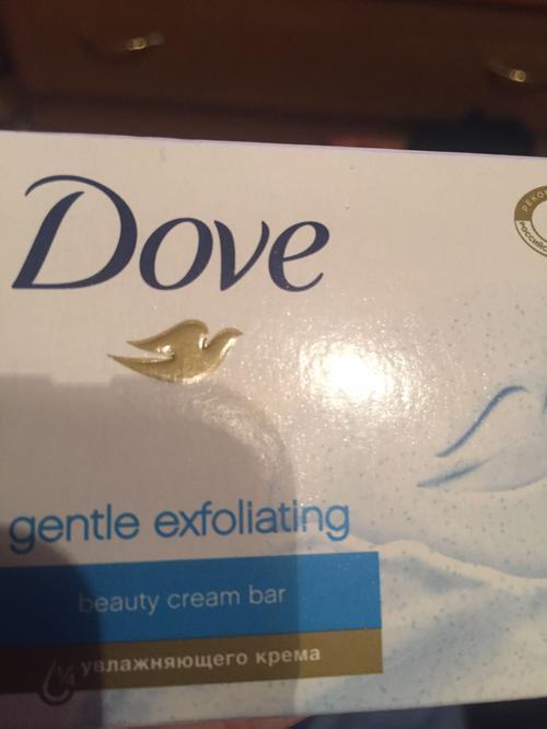 "Dove крем-мыло ""Нежное отшелушивание"" 100 гр"