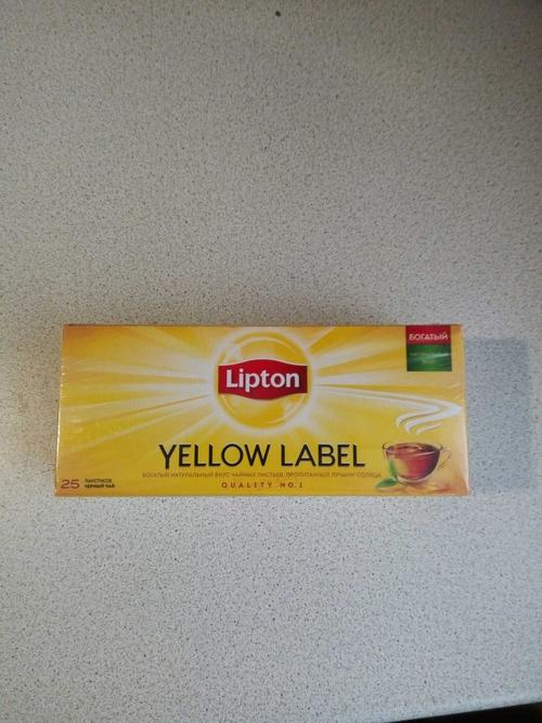 фото8 Чай Lipton Yellow Label черный, 25пак.