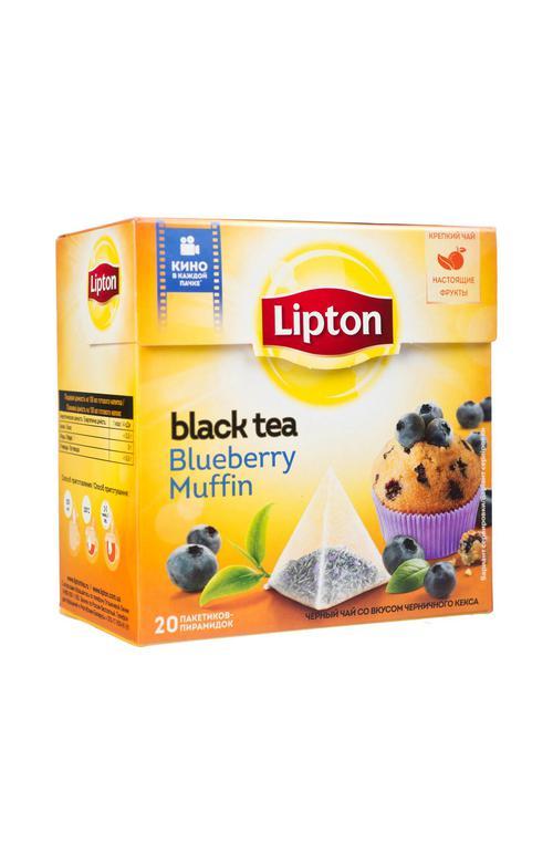 Чай Lipton черничный кекс