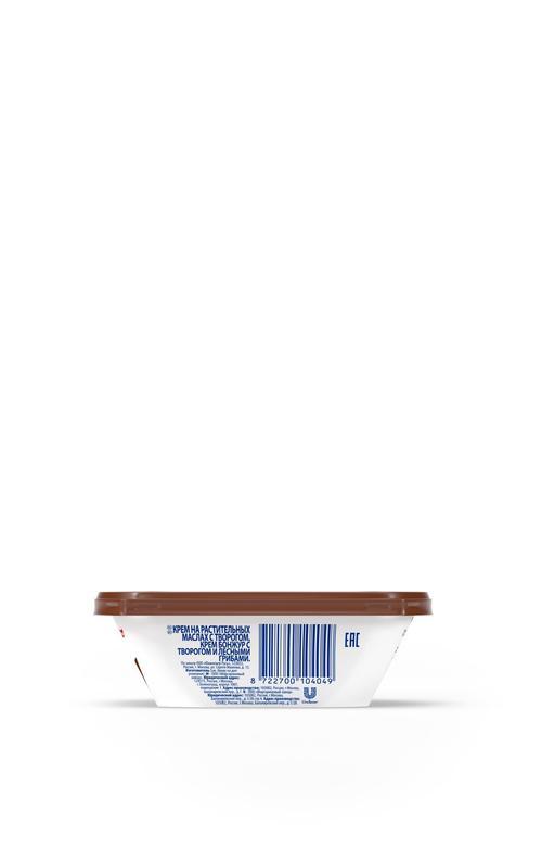 """цена Крем растительно- творожный """"Creme Bonjour""""  с творогом и лесными грибами, 200 г."""