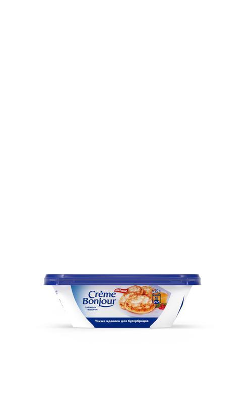 Крем растительно-творожный Creme Bonjour с нежным творогом 26% 200г