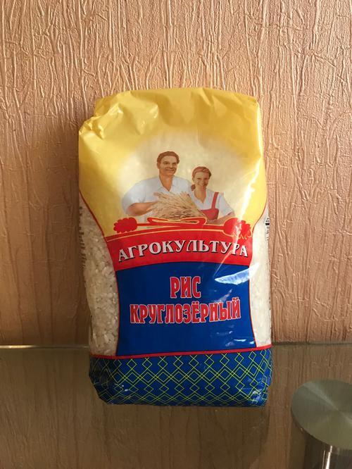 описание Агрокультура. Крупа рисовая шлифованная. Рис круглозерный