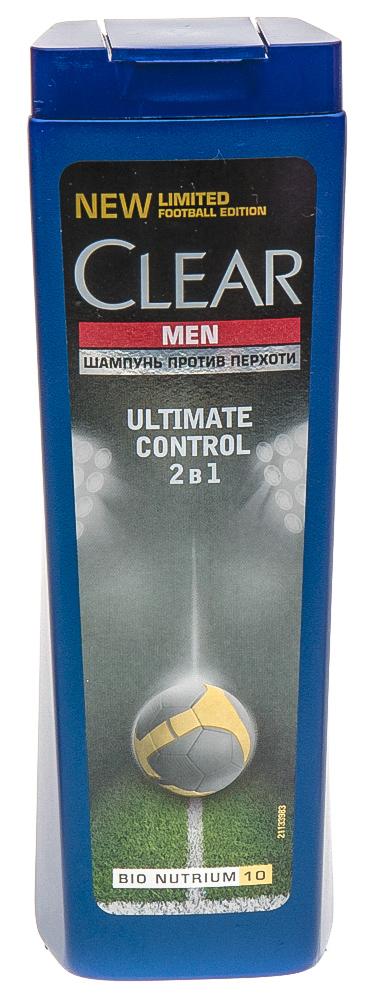 Шампунь и бальзам-ополаскиватель против перхоти для мужчин 2в1 ultimate control 12х400мл