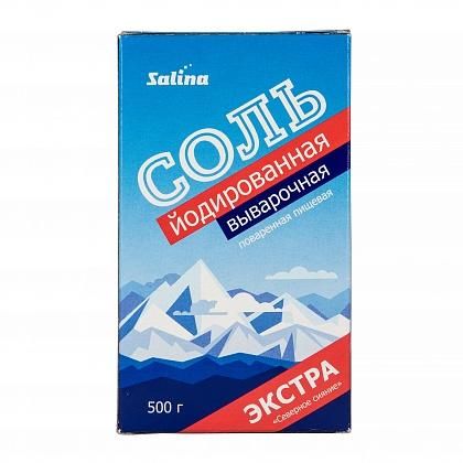 Соль поваренная пищевая выварочная йодированная «Северное сияние»