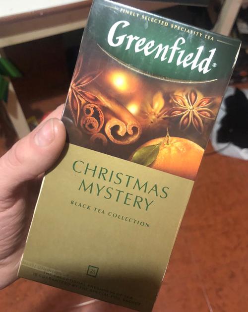 стоимость Чай черный байховый Гринфилд Кристмас Мистери в пакетиках