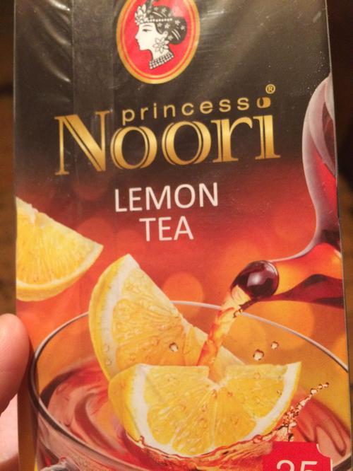 """фото4 Чай черный байховый цейлонский с цедрой и ароматом лимона """"Принцесса Нури"""", 37,5г."""