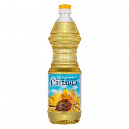 Подсолнечное масло без запаха Светлица