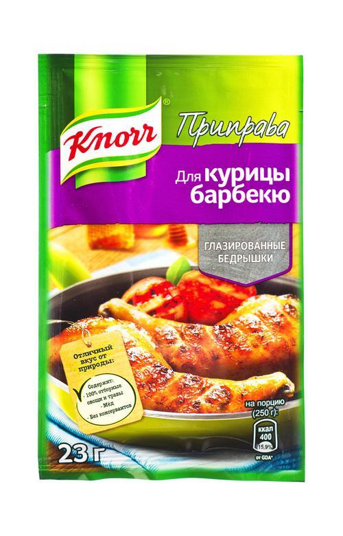 отзыв Кнорр приправа для курицы глазированные бедрышки 28х23г