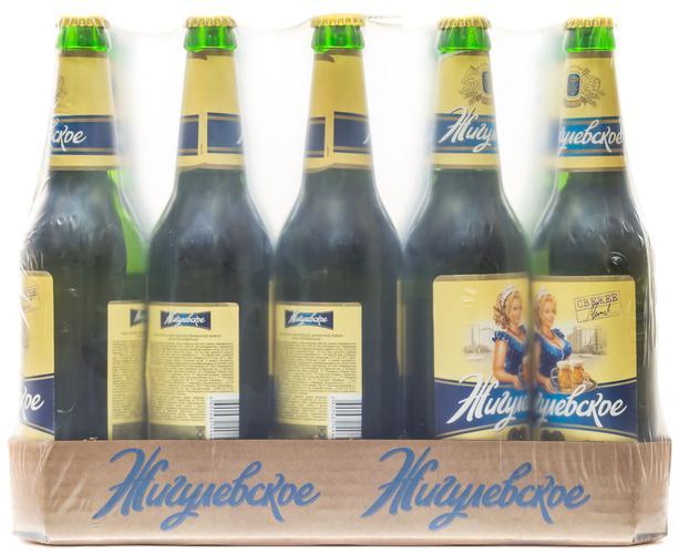 цена Пиво светлое Жигулевское Фирменное Живое