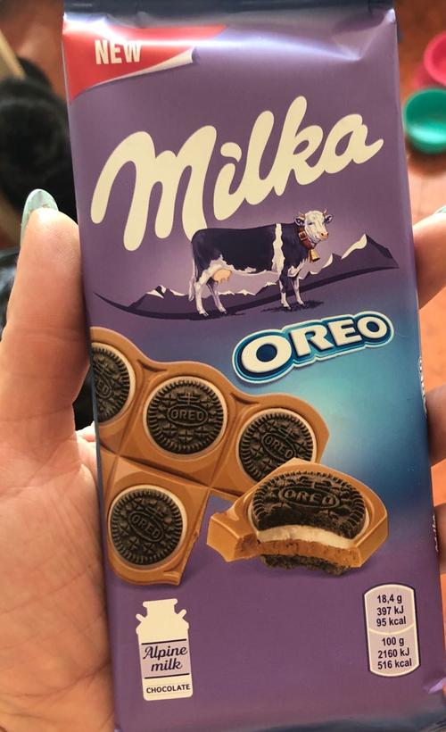 """отзыв Шоколад молочный """"Милка"""" с круглым печеньем Орео с начинкой из ванили"""