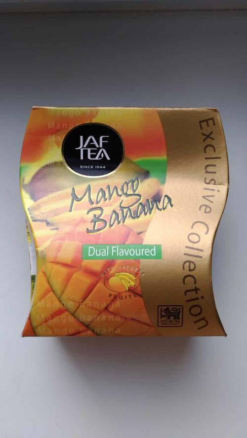 Чай Jaftea со вкусом манго и банана