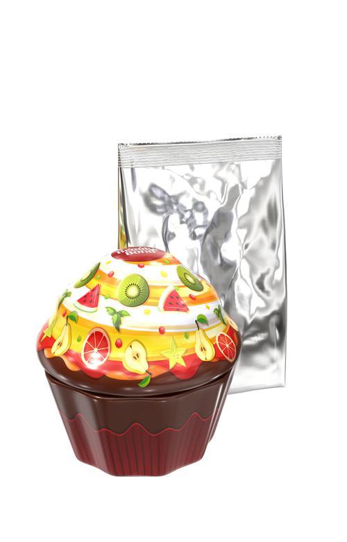фото Набор Brooke Bond чай черный листовой в жестяной банке в форме кекса