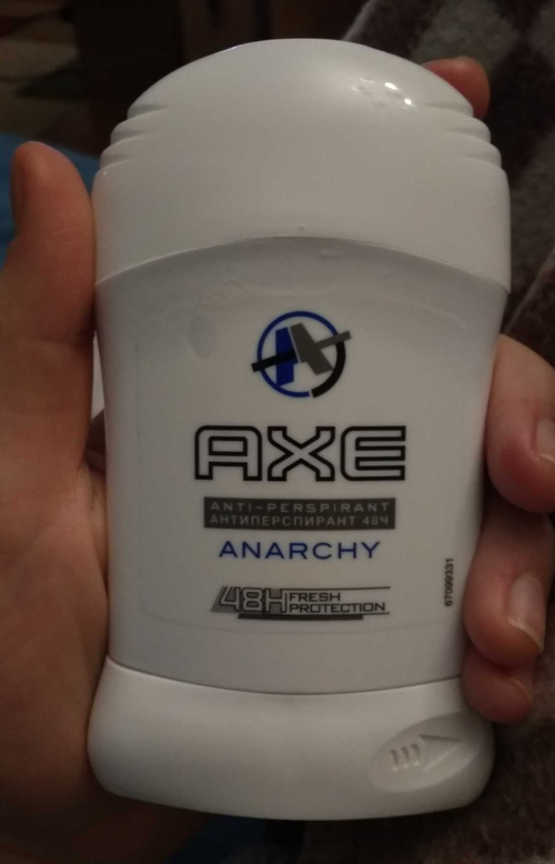 стоимость Антиперспирант карандаш AXE Dry Anarchy men, 50 мл.