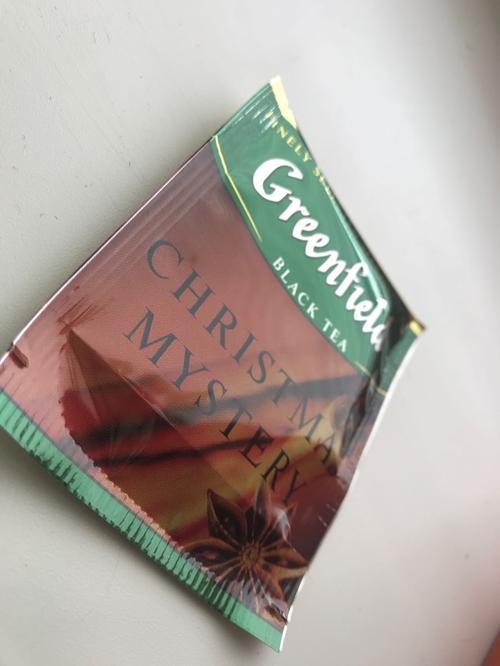 фото1 Чай черный байховый Гринфилд Кристмас Мистери в пакетиках