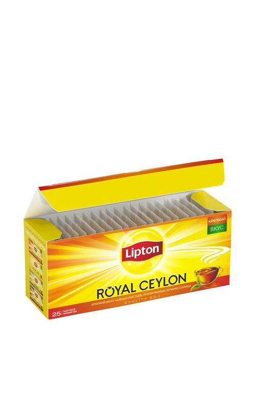 фото2 Чай Lipton Royal Ceylon, черный байховый цейлонский