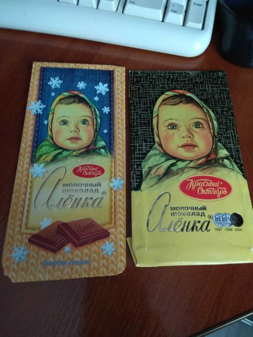 """фото7 Шоколад """"Аленка"""" молочный, 100гр."""
