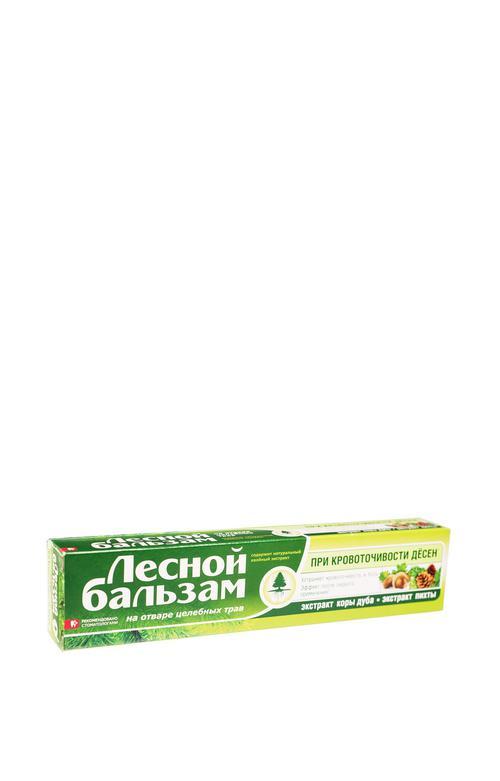 """цена Зубная паста """"Лесной Бальзам"""" Кора дуба и пихты, 75 мл."""