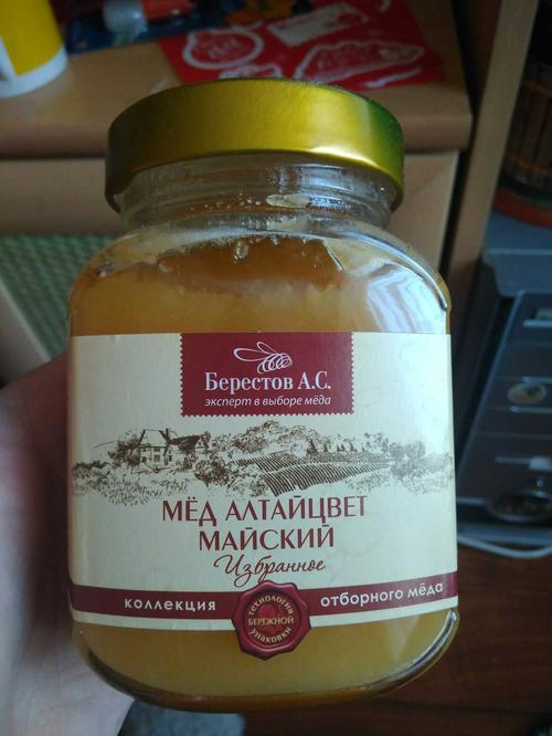 отзыв Мёд натуральный цветочный полифлорный Алтайцвет майский