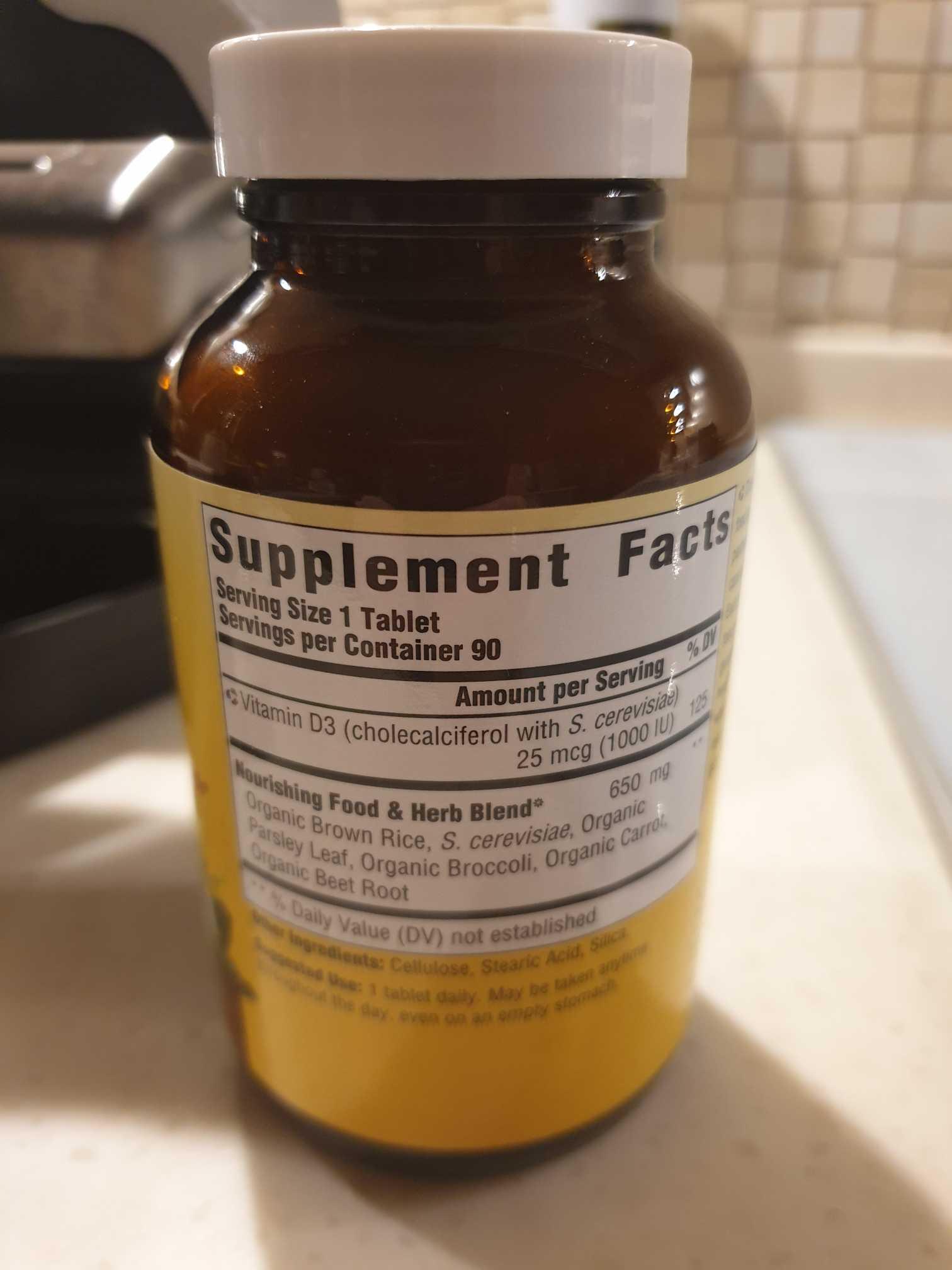 Mega Food Vitamin D3 1000IU