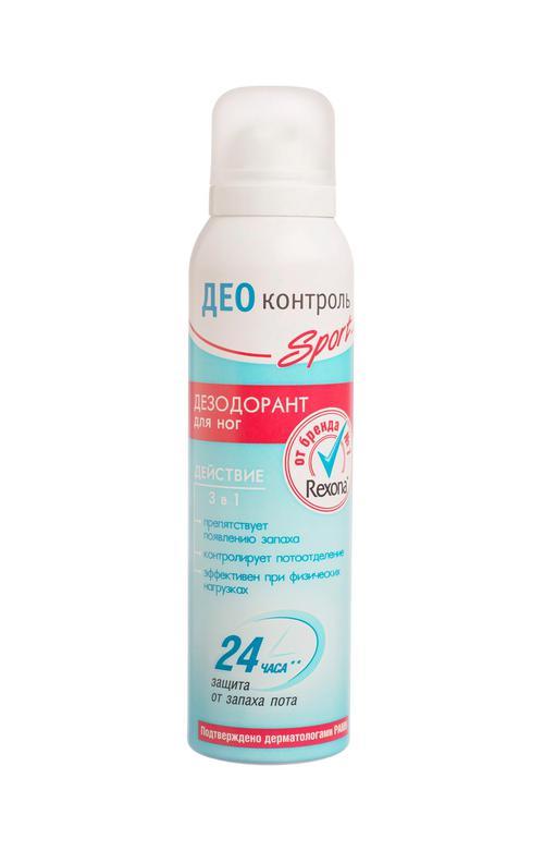 цена Дезодорант для ног калина део контроль спорт лечение 150мл