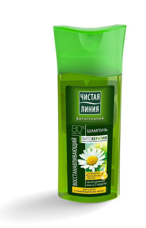 отзыв Шампунь, восстанавливающий на отваре целеб трав с экстрактом ромашки для сух и поврежд волос