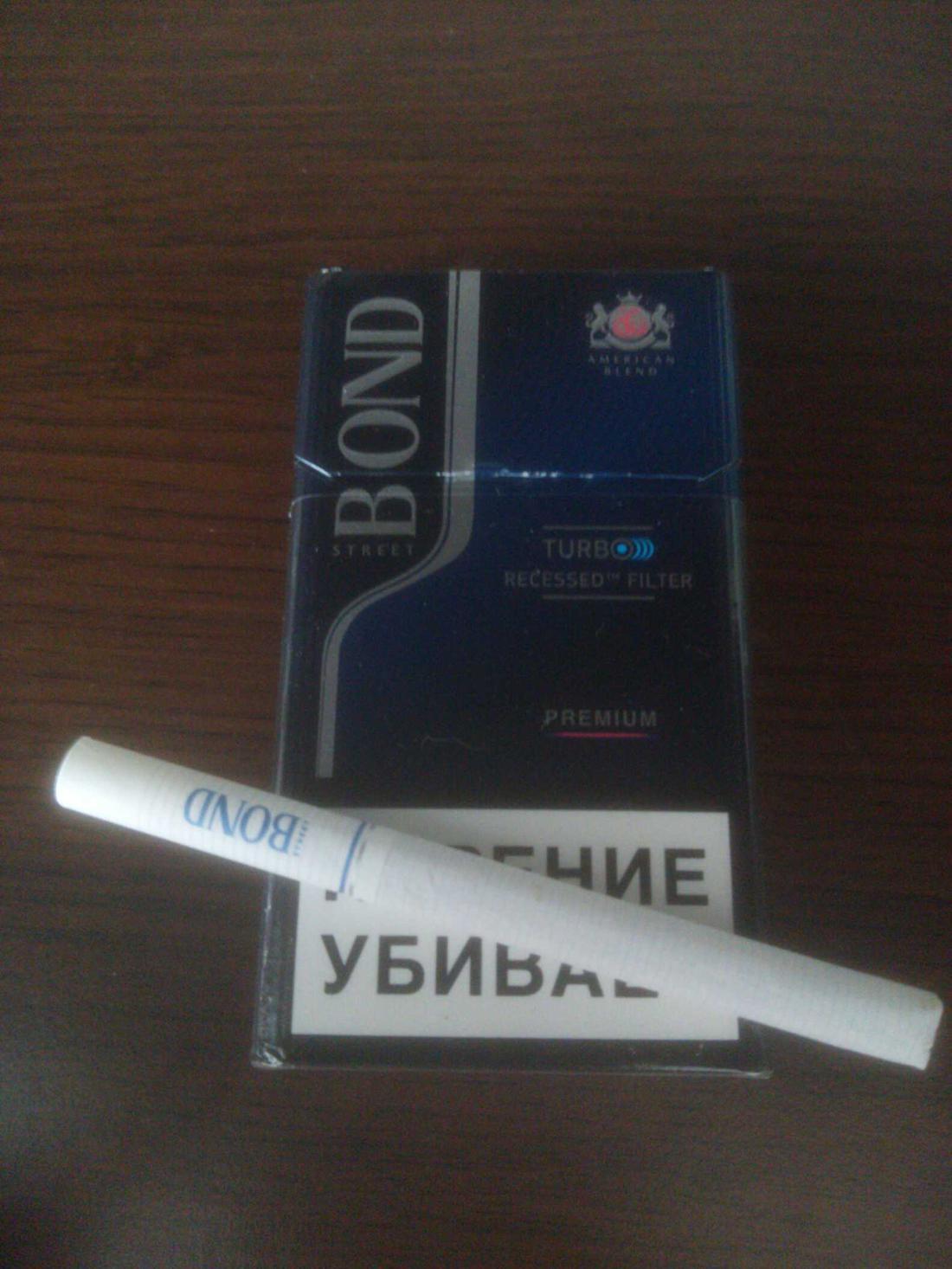 """Сигареты с фильтром """"Bond Street Compact premium"""""""