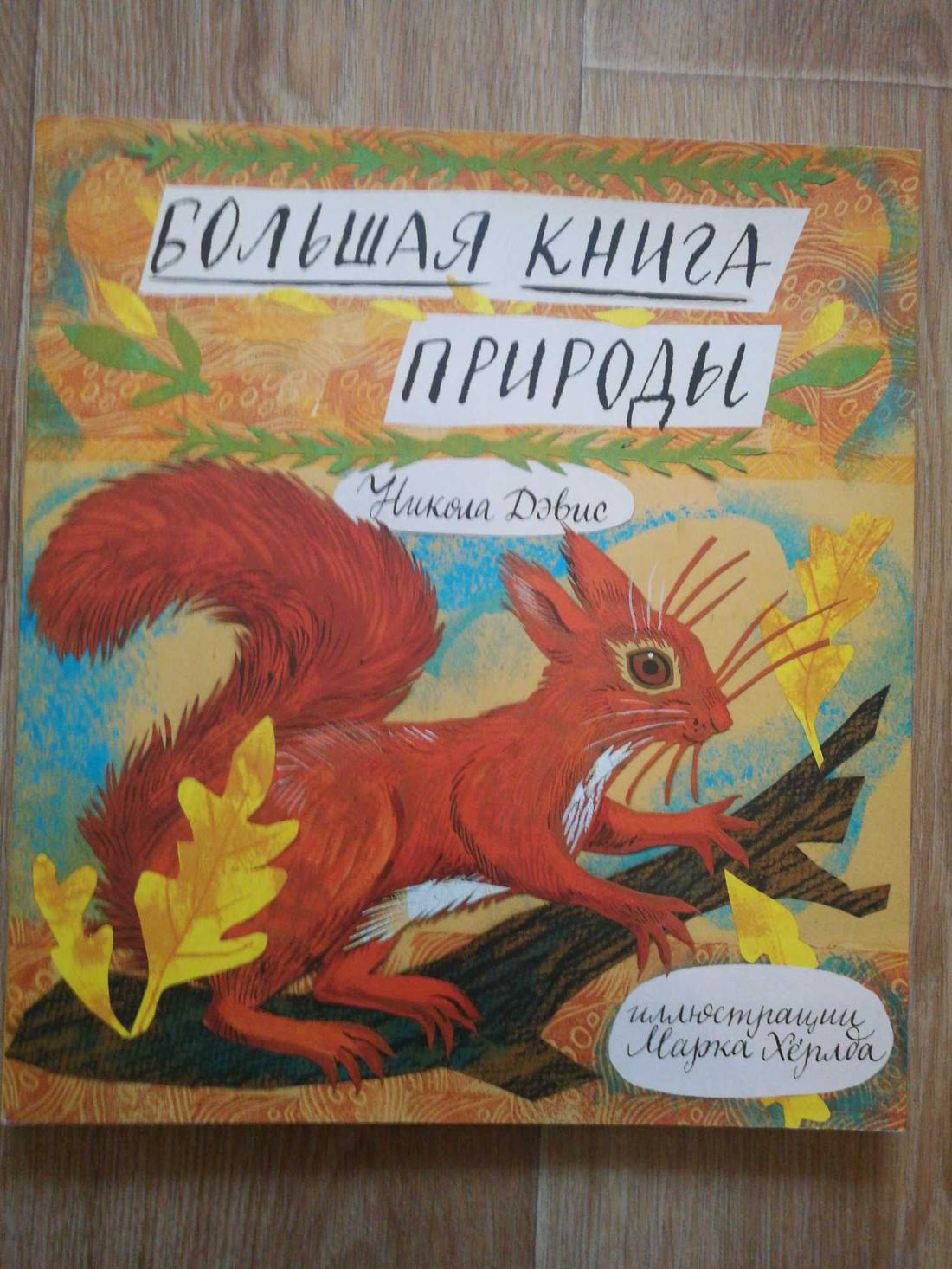 Никола Дэвис - Большая книга природы