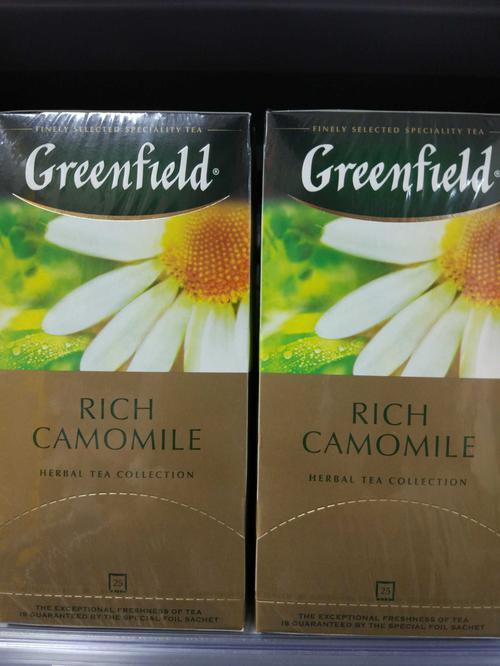 Напиток чайный Гринфилд Рич Камомайл в пакетиках