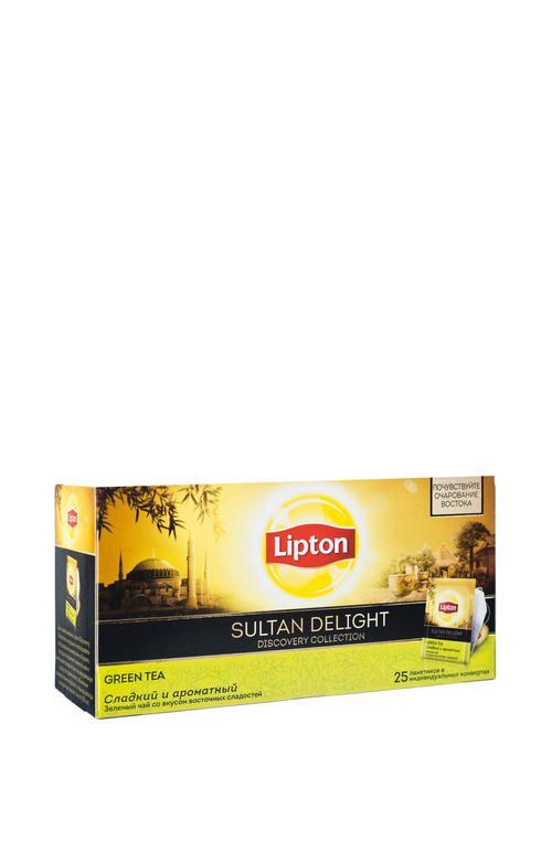 Зелёный чай Lipton SULTAN DELIGHT Discovery collection