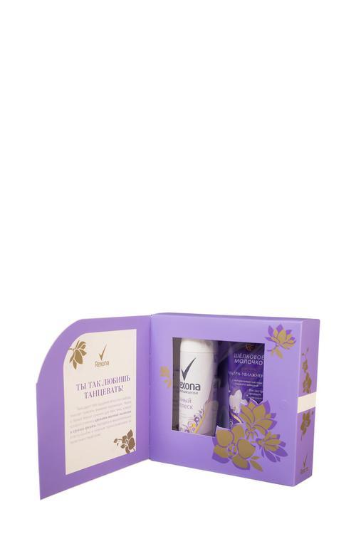 отзыв Подарочный набор Rexona магнолия и орхидея 2предм