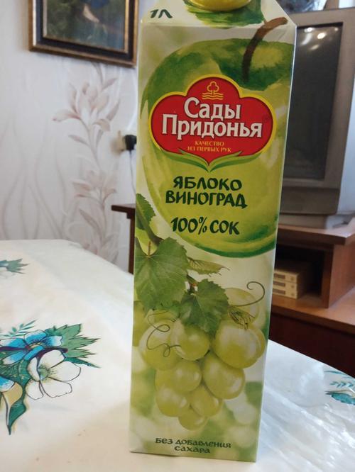 описание Сок «Яблоко-виноград»