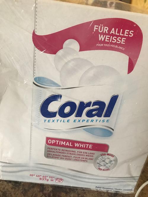 Coral white стиральный порошок