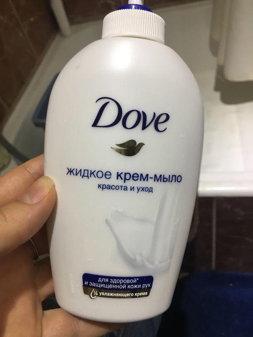 """фото Мыло Dove """"Красота и уход"""" жидкое"""