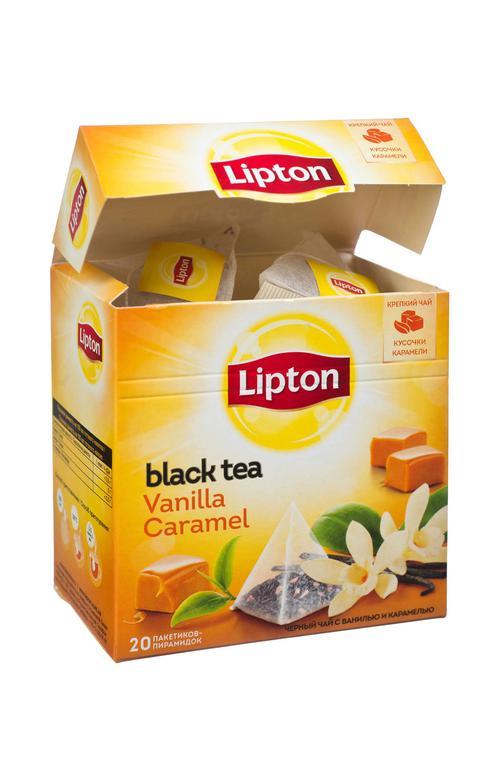 отзыв Чай Lipton Vanilla Caramel, пирамидки, 20пак