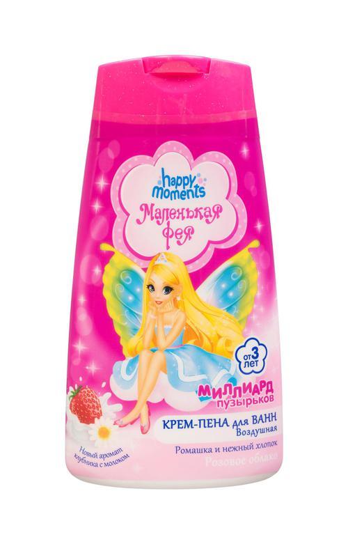 """цена Воздушная крем-пена для ванн """"розовое облако"""" маленькая фея"""