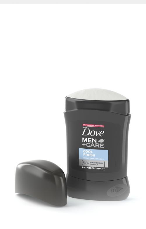 """отзыв Dove Men+Care антиперспирант карандаш """"Прохлада и свежесть"""", 50 мл"""