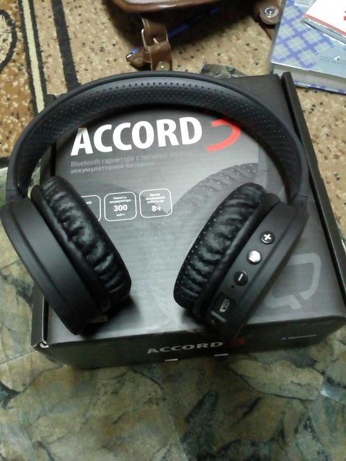 Bluetooth Гарнитура QUMO Accord 3 (BT-0020) Black