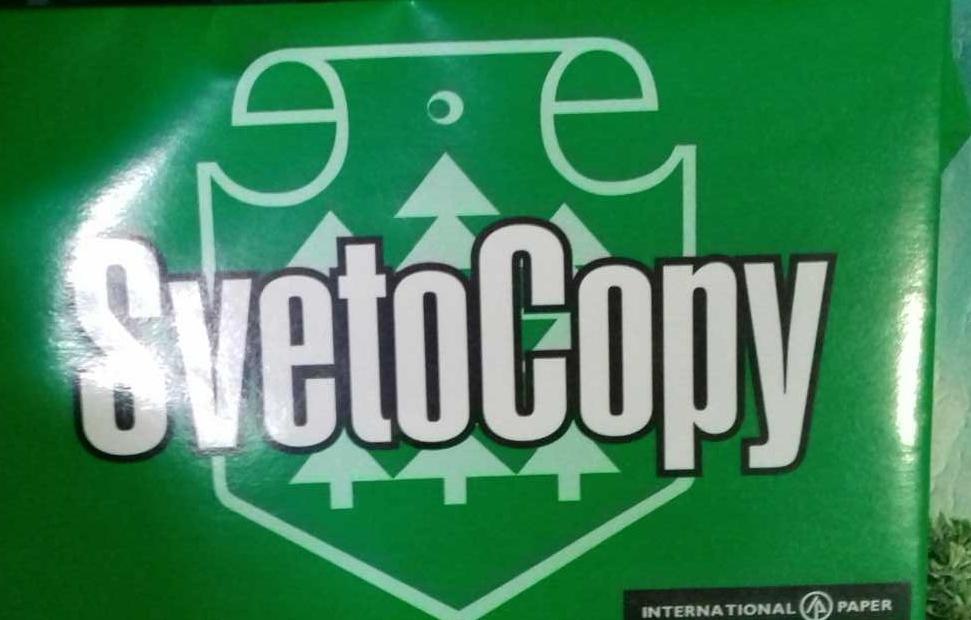 "фото6 Бумага ""SvetoCopy"" белая А4 80гр/м2, 500 листов"