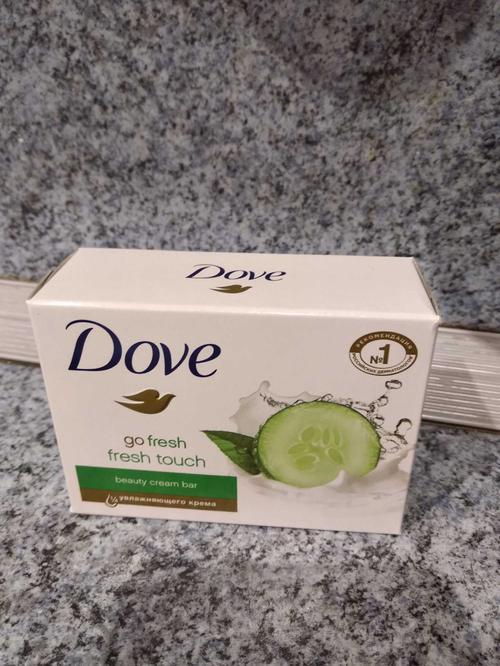 цена Мыло Dove с ароматом огурца и зеленого чая, 135гр.