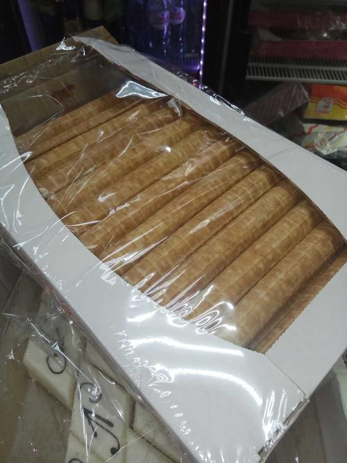 Вафельные сахарные трубочки аорёная сгущенка
