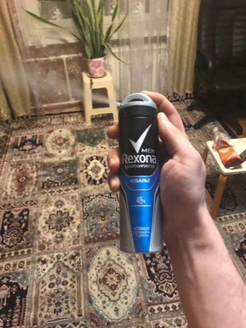 """фото3 Антиперспирант-аэрозоль """"REXONA MEN COBALT"""", 150 мл"""