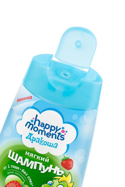цена Happy Moments Дракоша Детский Шампунь С Ароматом Земляники
