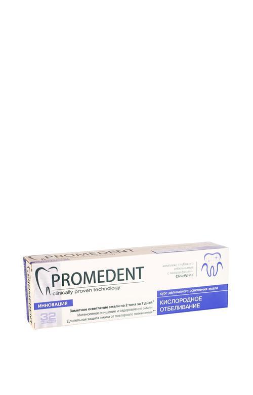 """отзыв 32 Бионорма Promedent зубная паста """"Кислородное отбеливание"""",  90 мл"""