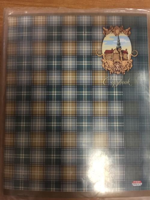 Copybook тетрадь в клетку