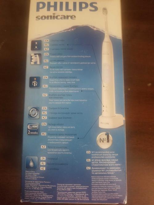 описание Philips ProtectiveClean HX6829/14 электрическая зубная щетка