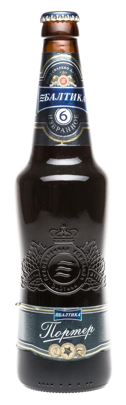 Пиво темное Балтика Портер №6